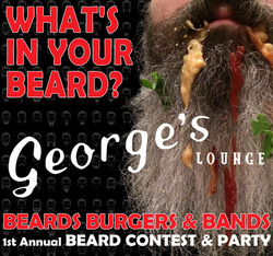beard contest & party downtown canton