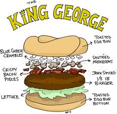 The King George Burger