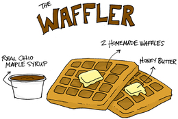 The Waffler Breakfast