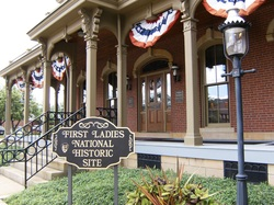 National First Ladies Library in downtown canton