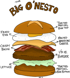 The Big O'nesto Burger